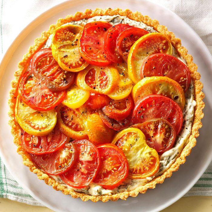 Heirloom Tomato Pie