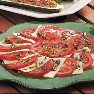 Tomato Basil Mozzarella Salad