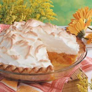 Apricot Meringue Pie