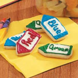 C  Is For Crayon Cookies