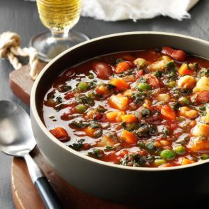 Potato Minestrone