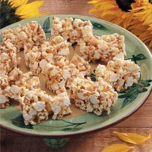 Sunflower Popcorn Bars
