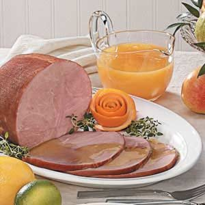Ham with Citrus Sauce