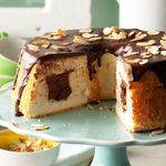 Chocolate-Filled Angel Food Cake
