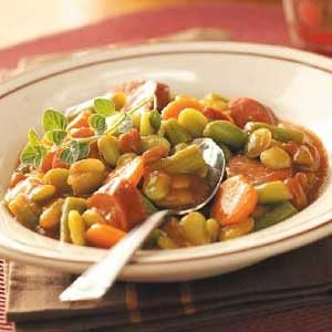 Sweet Sausage 'n' Beans