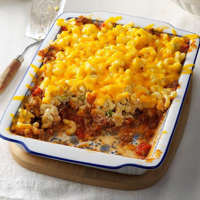 Day 28: Beef & Noodle Casserole