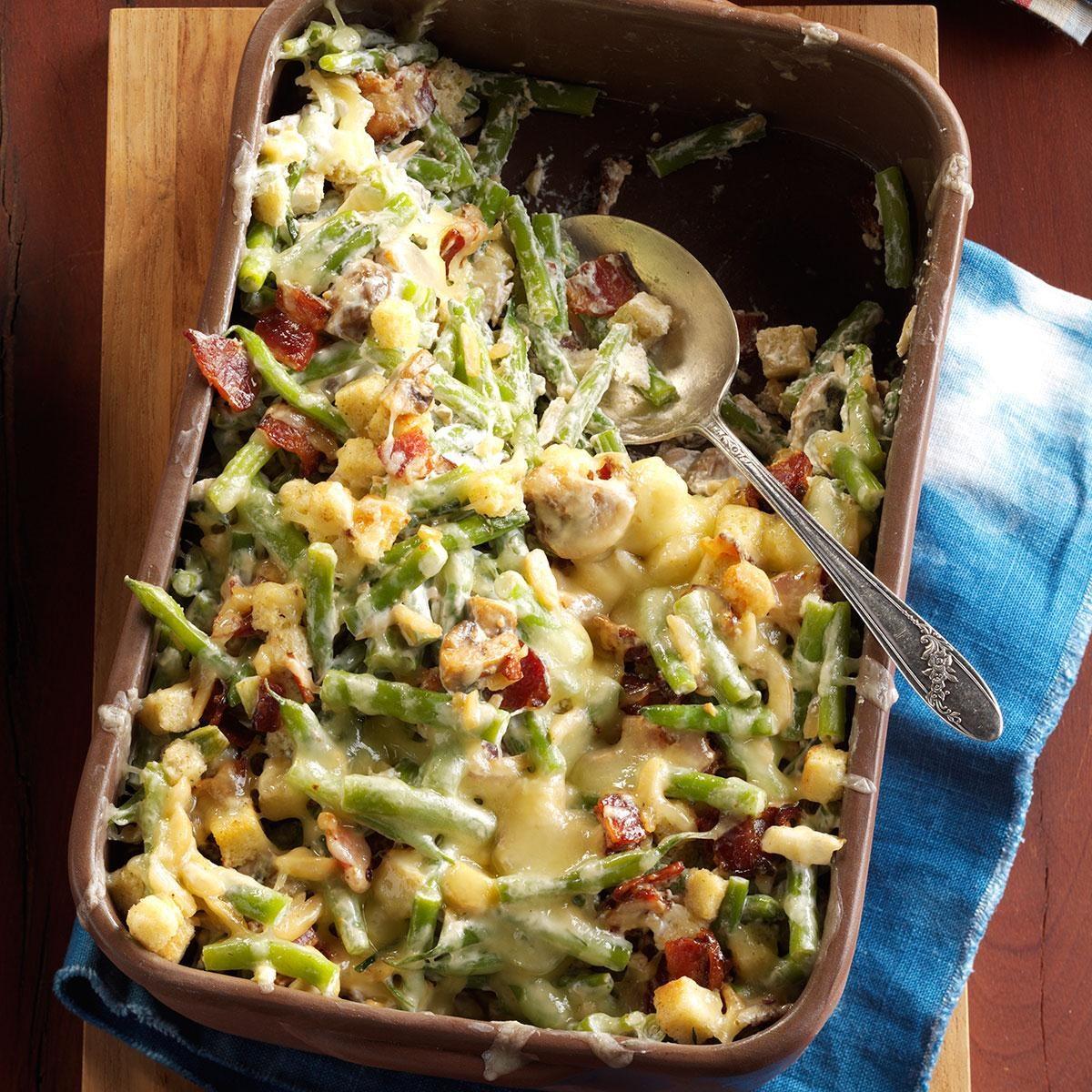 Thanksgiving Green Beans Recipe