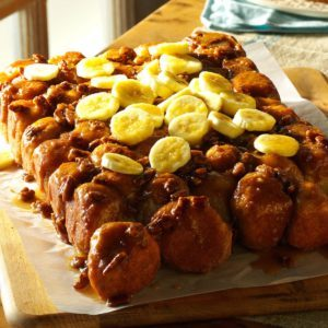 Upside-Down Banana Monkey Bread