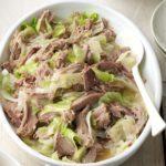 Slow-Cooker Kalua Pork & Cabbage
