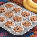 Bran Banana Muffins