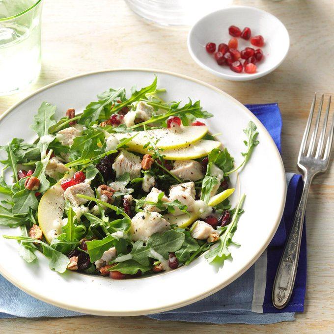 Turkey Salad with Pear Dressing