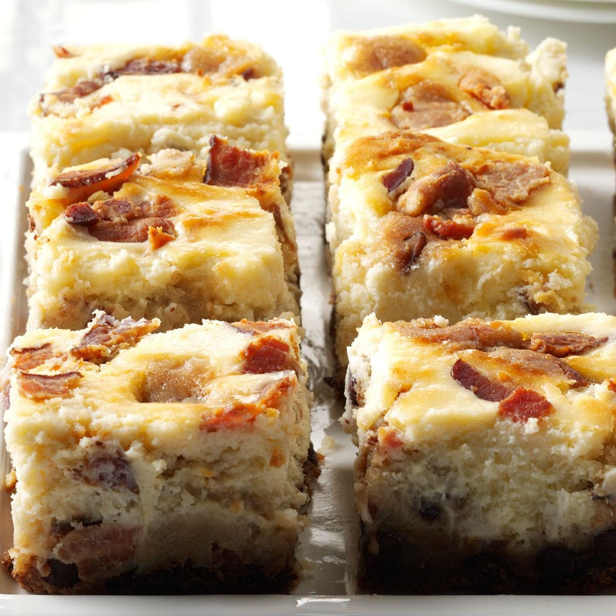 Bacon: Bacon Chocolate Chip Cheesecake Blondies