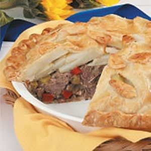Beef N Potato Pie