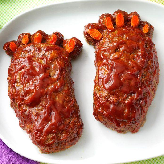 Halloween Feet Loaf