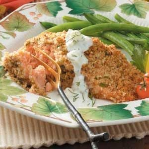 Pecan-Crusted Salmon