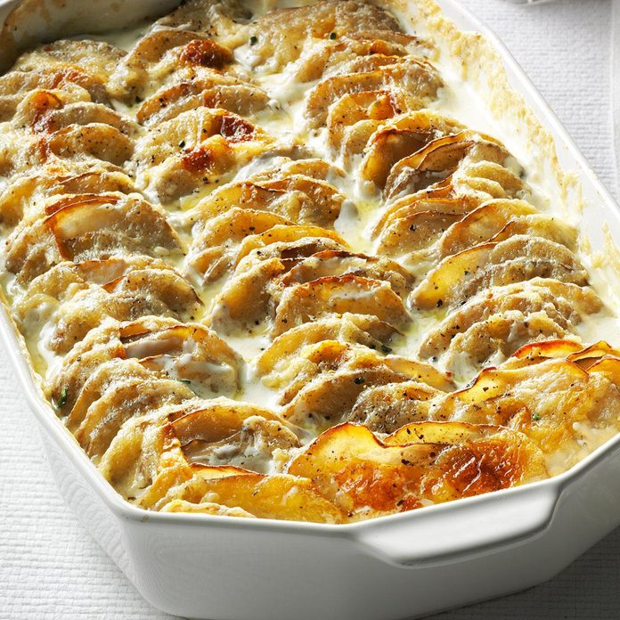 Super Simple Scalloped Potatoes