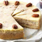 Roasted Banana & Pecan Cheesecake