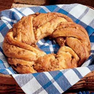 Baked Maple Butter Twists