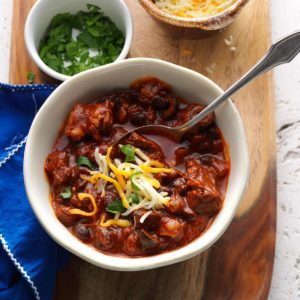 Empanada Beef Chili