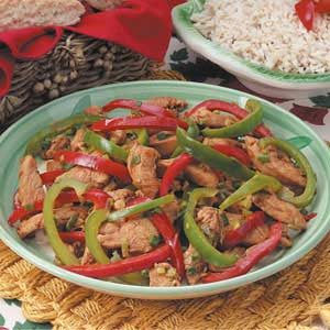 Gingered Chicken Stir-Fry