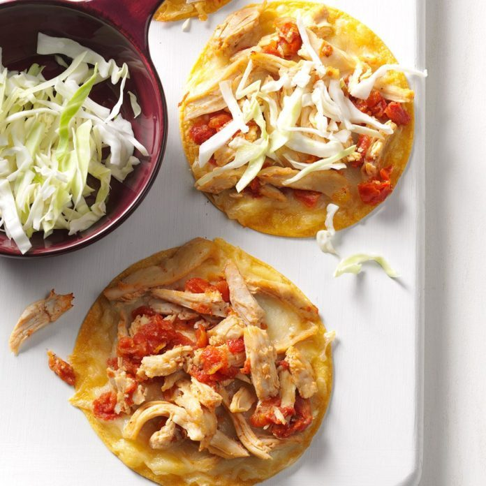 Baked Chicken Chalupas