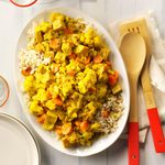 Turkey Curry with Rice