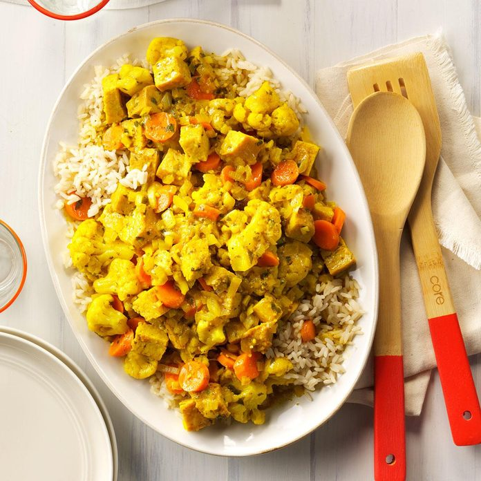 Day 12: Turkey Curry with Rice