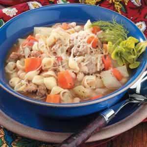 Tomato Sausage Stew