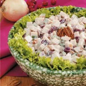 Cranberry-Chutney Turkey Salad
