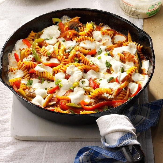 Day 11: Spicy Veggie Pasta Bake