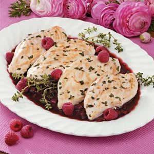 Raspberry Thyme Chicken