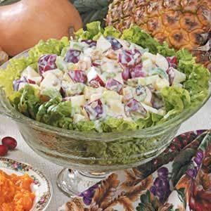 Pineapple Waldorf Salad