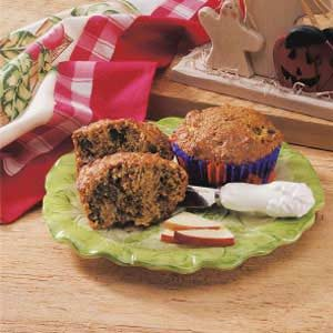 Apple Wheat Muffins