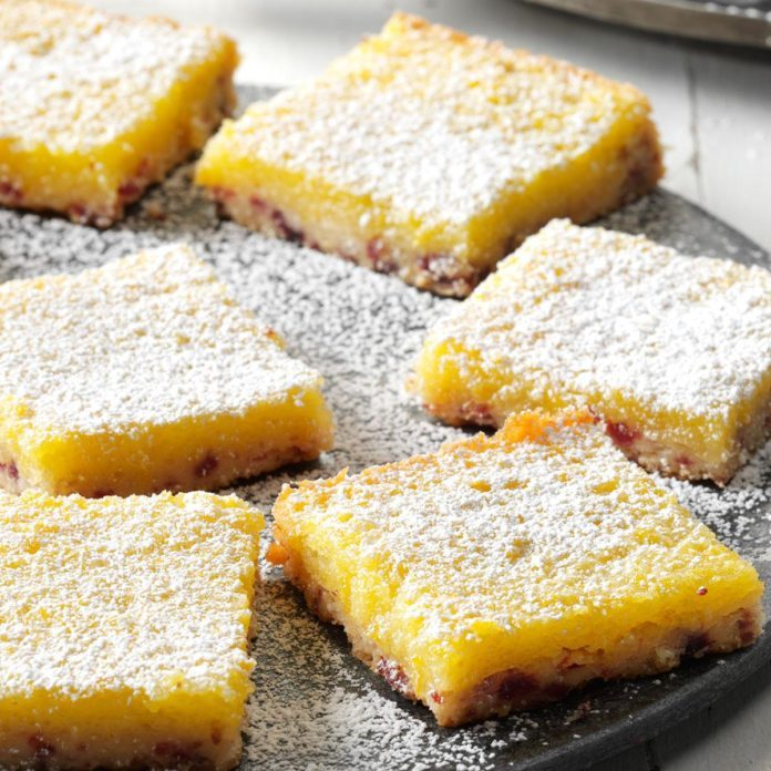 Clementines: Cranberry Clementine Bars