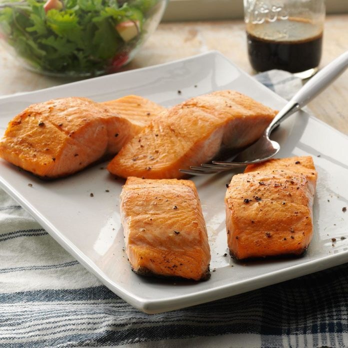 Inspired by: Sear-ious Salmon