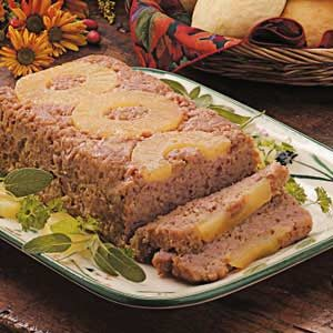 Ham Loaf with Pineapple