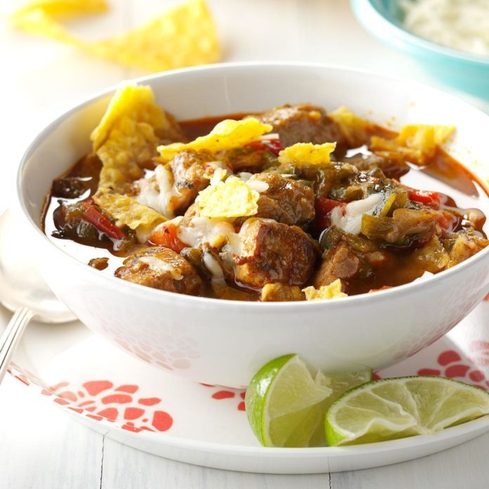 Spicy Pork & Green Chili Verde