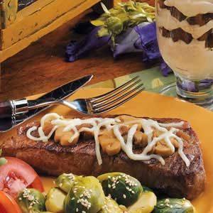 Mushroom Strip Steaks