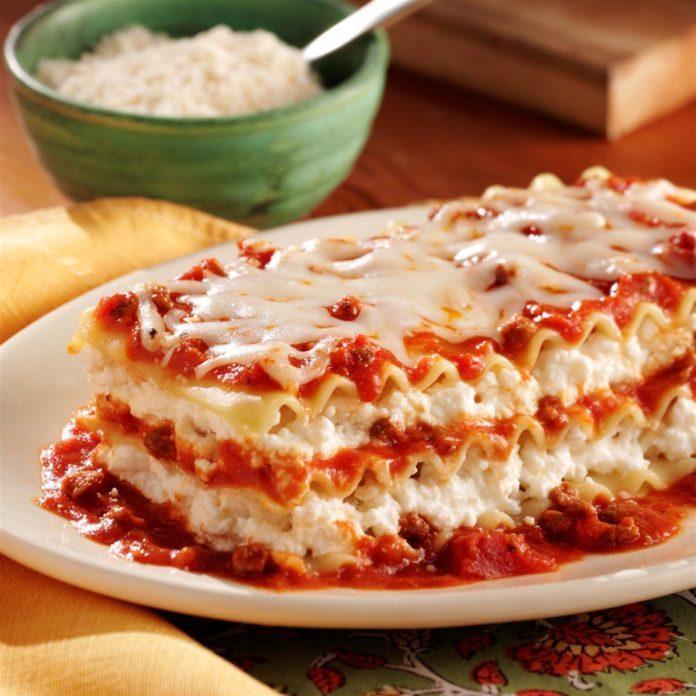 Ragú No Boiling Lasagna