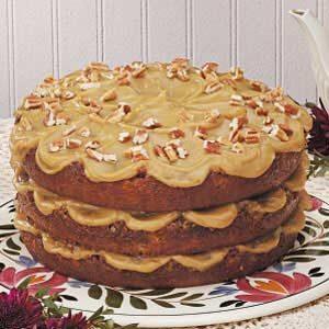 Layered Pecan Torte