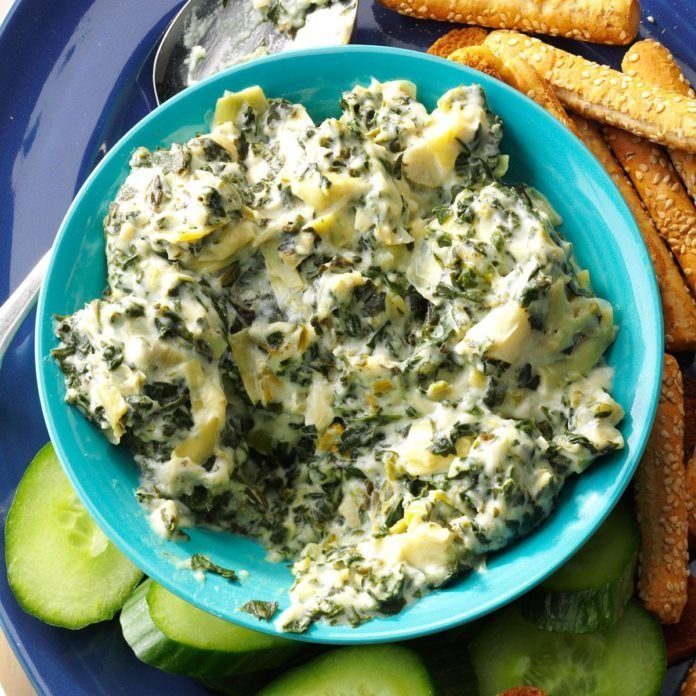 Slow-Cooker Spinach & Artichoke Dip