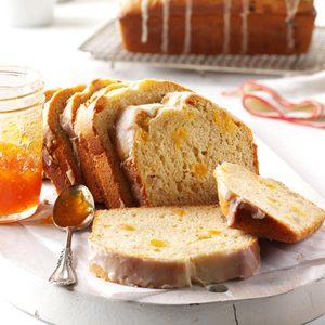 Apricot & Macadamia Eggnog Bread