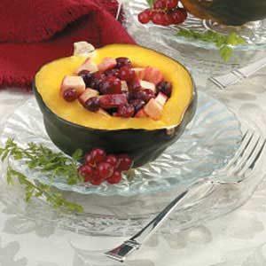 Fruit-Stuffed Acorn Squash