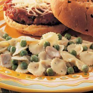 Italian Pasta and Peas