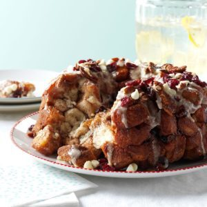 Cranberry Chip Monkey Bread