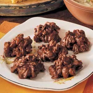 Crispy Chocolate Mounds