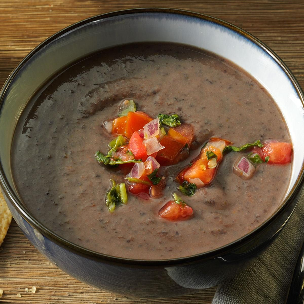 Pico de Gallo Black Bean Soup