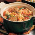 Pasta Meatball Stew