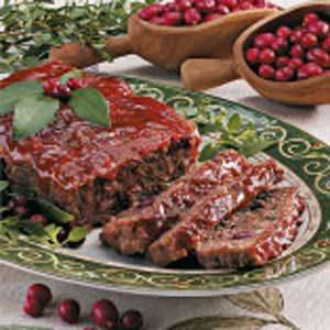 Cranberry Meat Loaf
