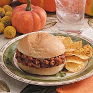 Pumpkin Burgers